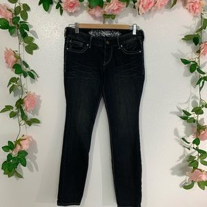 Express black weathered Jeans
